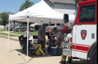 Box 620 provides critical rehab services for area first responders.